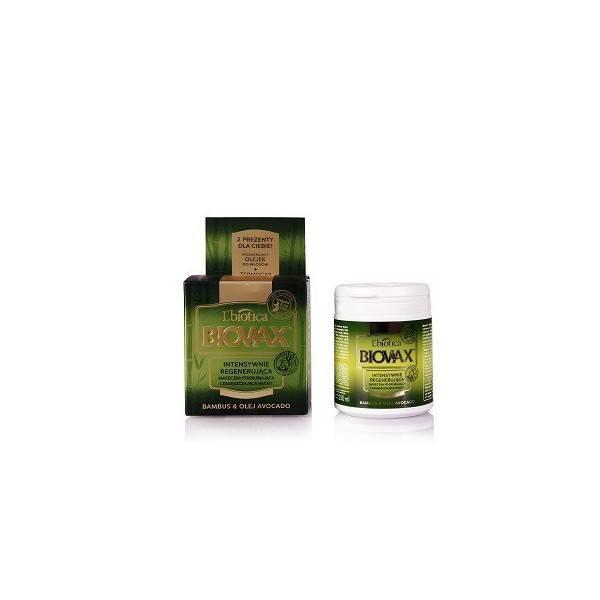 Regenerująca maska do włosów - Bambus i olej avocado (1)