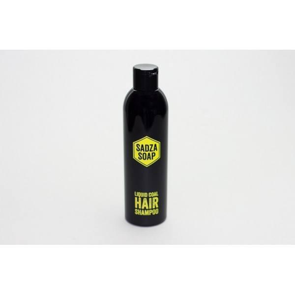 Czarny szampon z węglem aktywnym (1) - kosmetyki naturalne