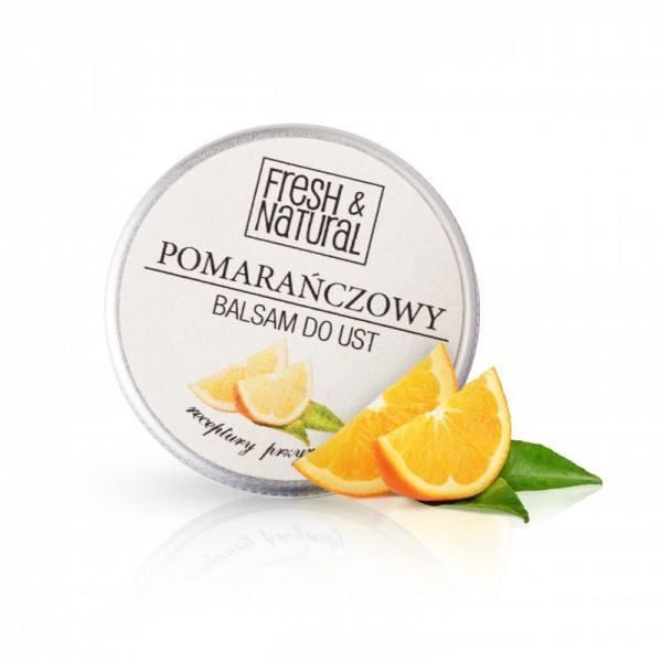 Pomarańczowy balsam do ust (1)