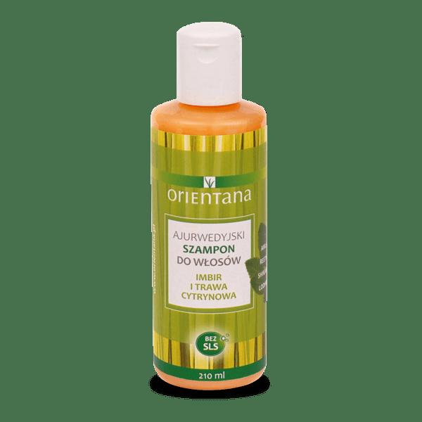 Ajurwedyjski szampon - Imbir i trawa cytrynowa Orientana (1)