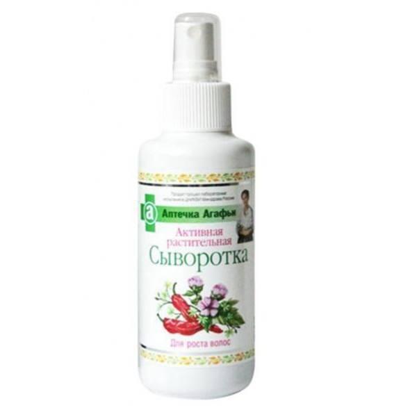 Aktywne ziołowe serum na porost włosów Apteczka Agafii (1)