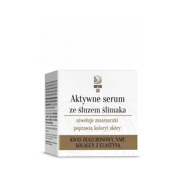 Aktywne serum ze śluzem ślimaka (1) - kosmetyki naturalne