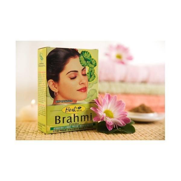 Wzmacniająca maska do włosów - Brahmi (1)