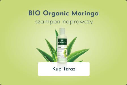 BIO Organic Moringa - Szampon naprawczy